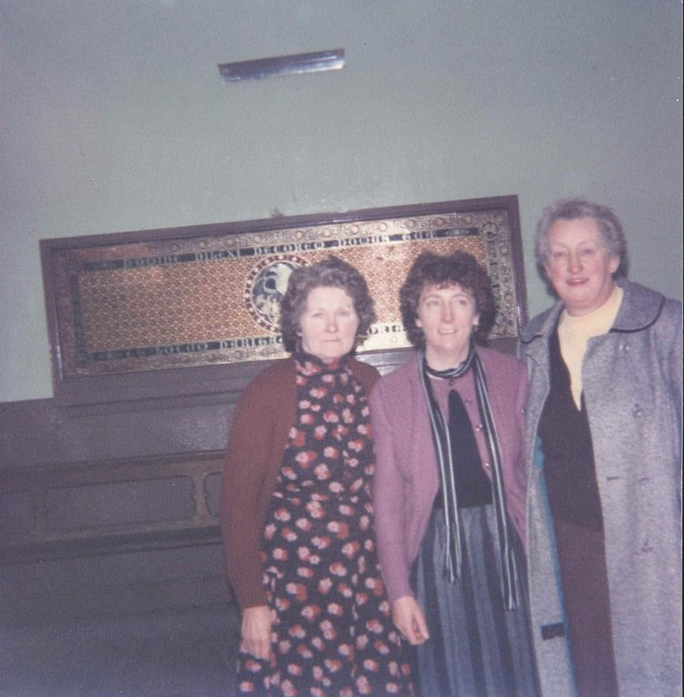 Mrs Daunt, Mrs Ryan Mrs Sullivan Dec 1984_753x768